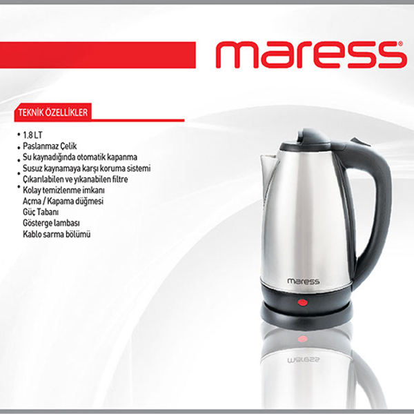 maress çelik kettle